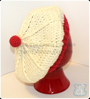 Red Hat Cake Head Band