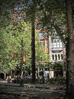 WATCHING PIONEER SQUARE | by Photocoyote