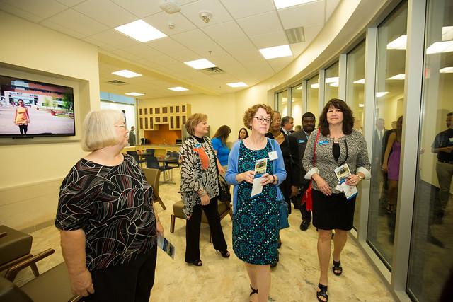 Career Development Center grand opening