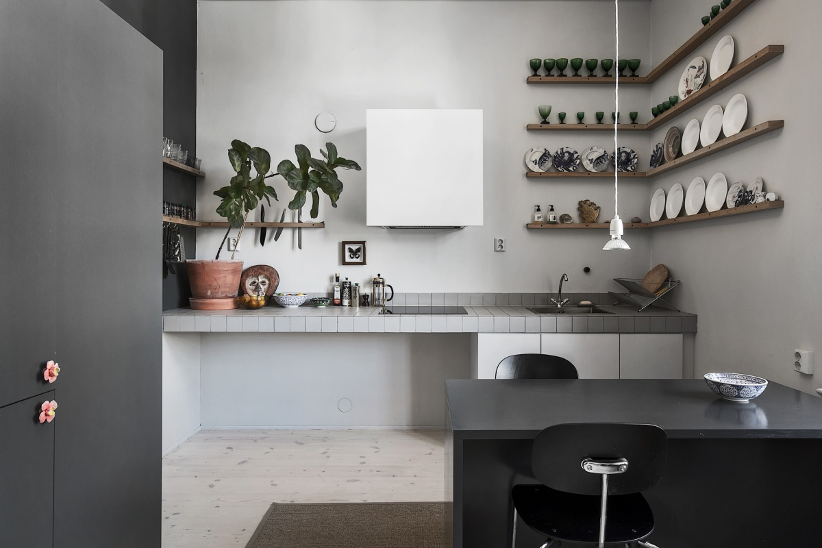 Minimal White and Gray Home