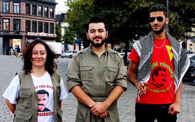 Koerdische betoging in Antwerpen // Liesbeth