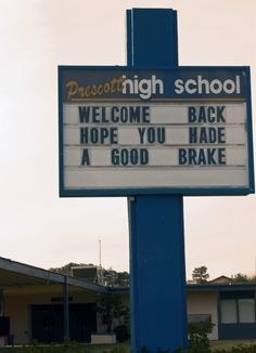 Back to School 7 (Bad Signs)