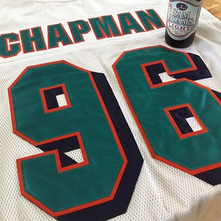 I'm all geared up! Go Dolphins! #nflkickoff | by CC Chapman
