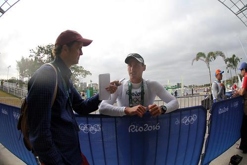 Debut Juan Ignacio Maegli en la vela de Rio
