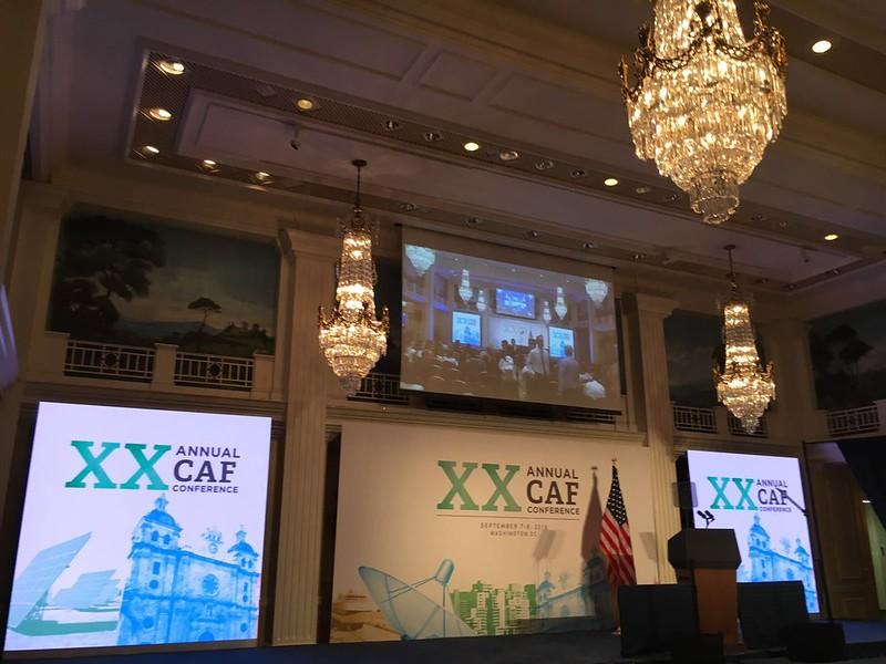 XX Conferencia Anual  CAF