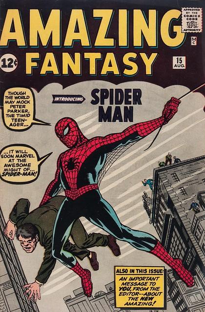 comics Amazing Fantasy 15
