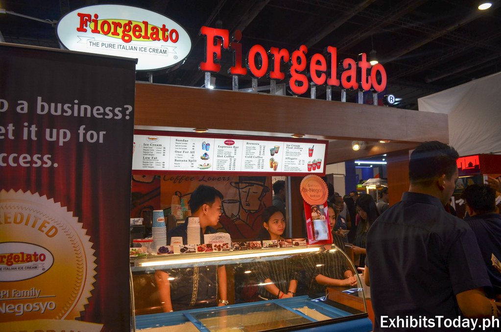 Fiorgelato Exhibit Booth