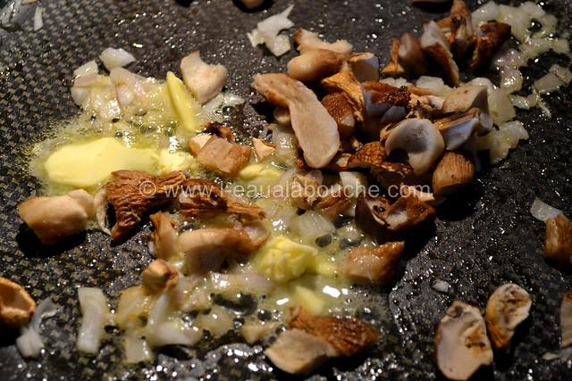 Omelette aux Cèpes & au Foie Gras © Ana Luthi Tous droits réservés 01