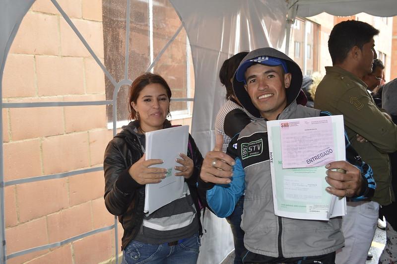 Entrega de viviendas Rincón de Bolonia