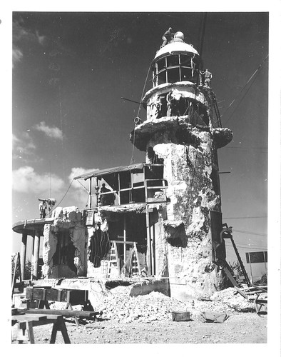 Saipan Lighthouse Damaged 1944 | by World Lights