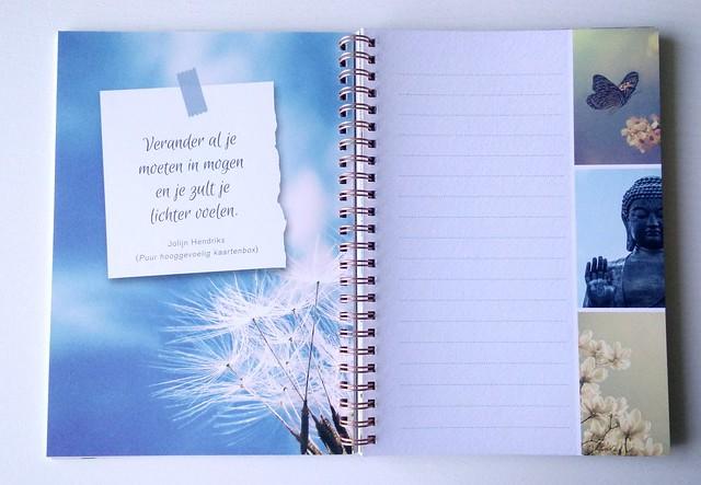 Inspirerend leven notebook 1