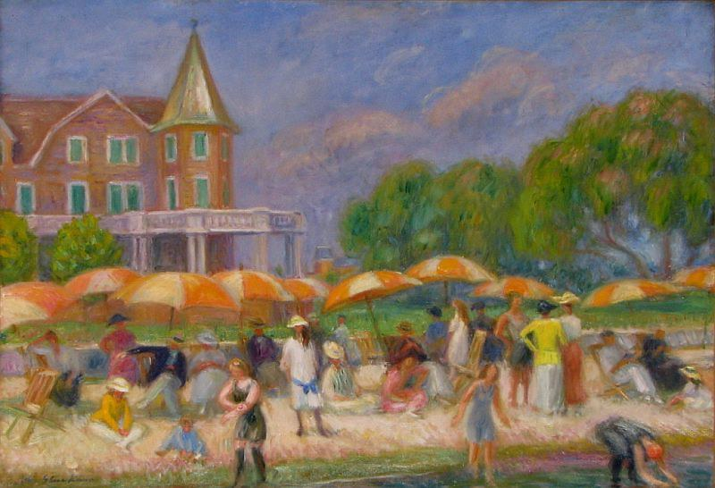 william-glackens-umbrellas