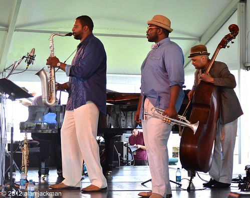 Lewis Nash Quintet, 2012 Newport Jazz Festival | by jackman on jazz