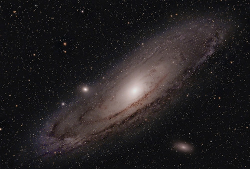 M31 Andromeda - all 16 hours of it :) | by BudgetAstro