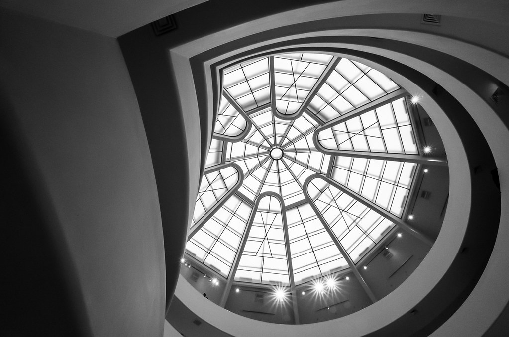 Guggenheim ceiling