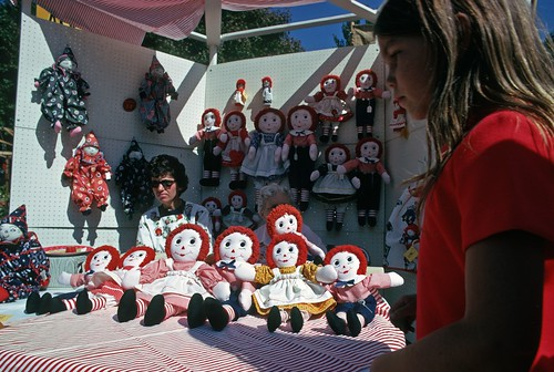 Doll booth at Bumbershoot, 1973 | by Seattle Municipal Archives