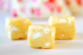 Homemade lemon meringue fudge | by toriejayne