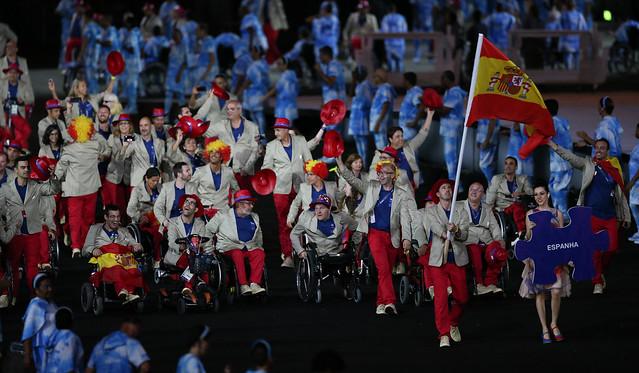 Ceremonia de inauguración. Juegos Paralímpicos Rio 2016