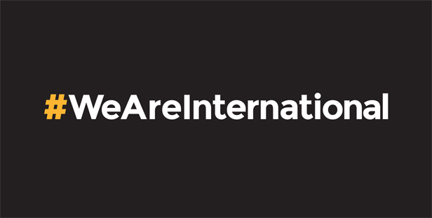 UK universities and the We Are International awareness and action campaign