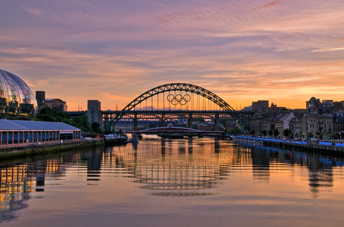 Sunset on Tyne. | by paul downing