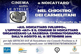 Noicattaro. Cinema sotto le Stelle front
