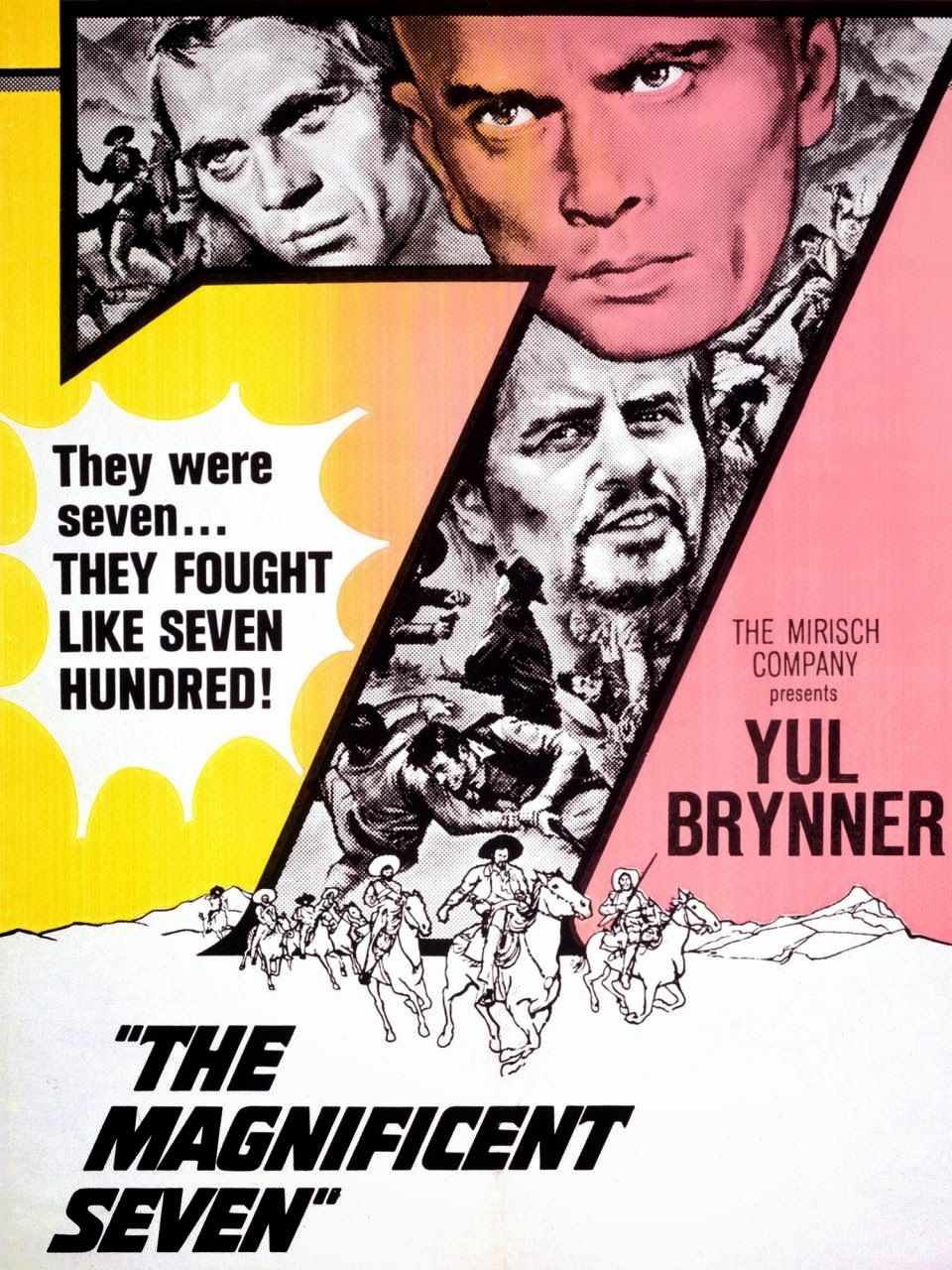 The Magnificent Seven 1960 Amazing Movie Posters