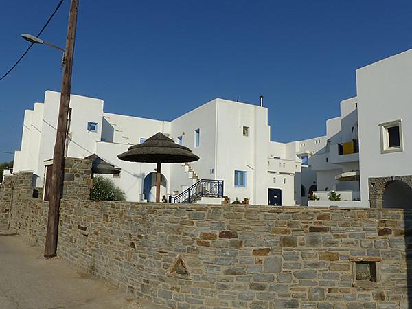 maison blanche à Prokopios