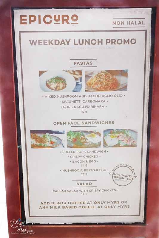 epicuro usj taipan lunch promo menu