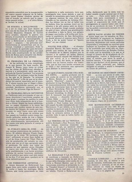 Cinelandia, Tomo XI Nº 1, Janeiro 1937 - 22
