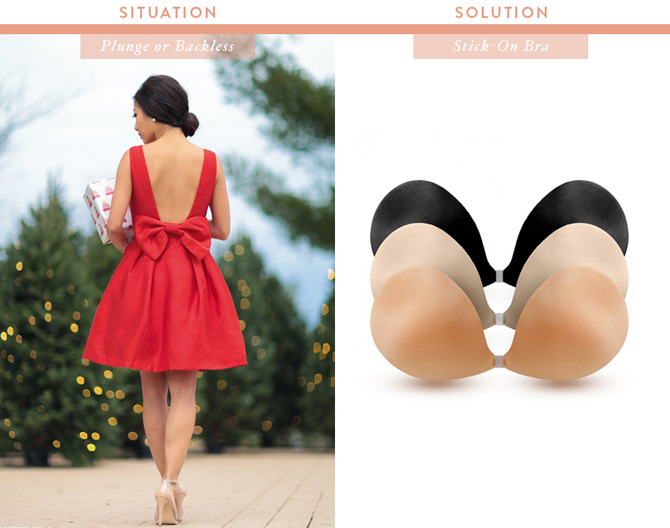 nubra stick on bra_what to wear under a backless dress