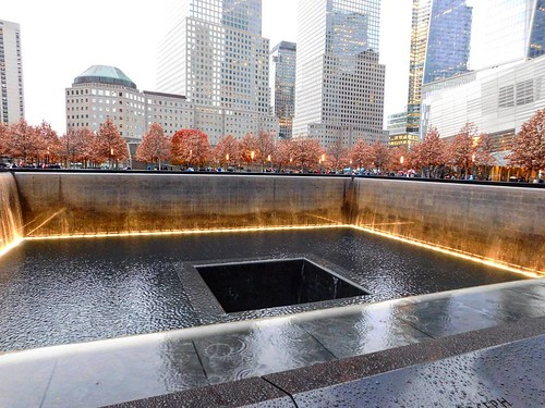Where one stood. #worldtradecenter #911memorial