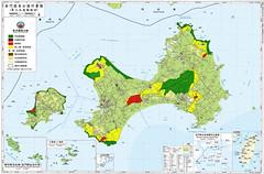 金門國家公園計畫分區圖(第二次通盤檢討)