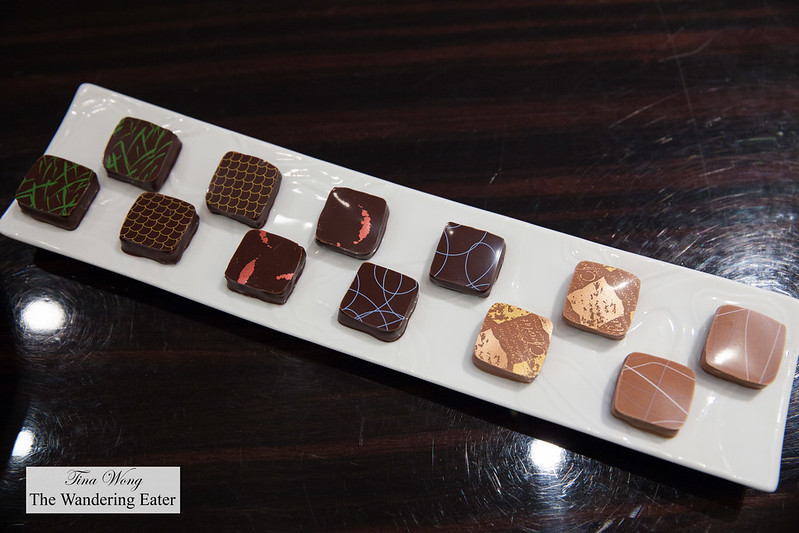Chocolates to nibble on