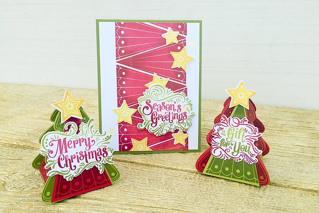 Fancy Pants Holiday Sentiments and Christmas Tree Change Up Collection by Papertrey Ink