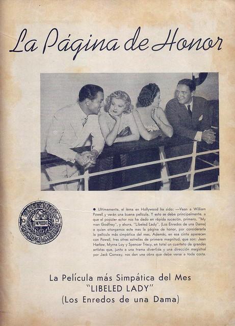 Cinelandia, Tomo XI Nº 1, Janeiro 1937 - 2