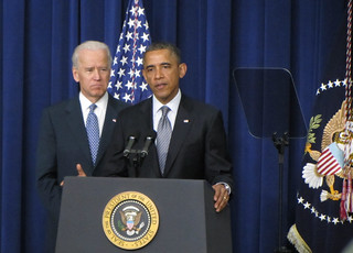 President Obama and Vice President Biden, January 16, 2013. | by WilliamKoenig