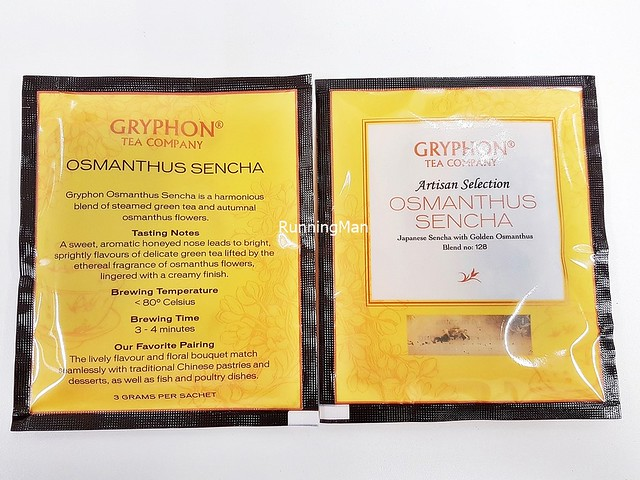 Gryphon Tea Osmanthus Sencha