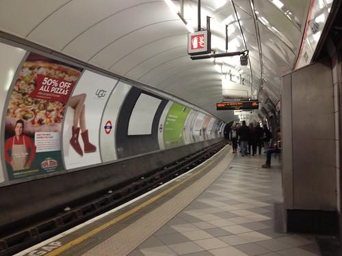 Bank underground station (Central Line E)