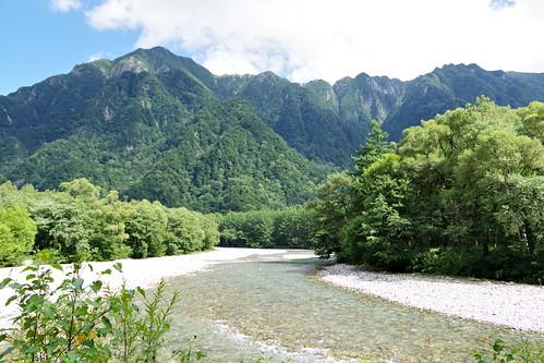 Azusa-gawa river 梓川 Kamikochi 2016 summer 54