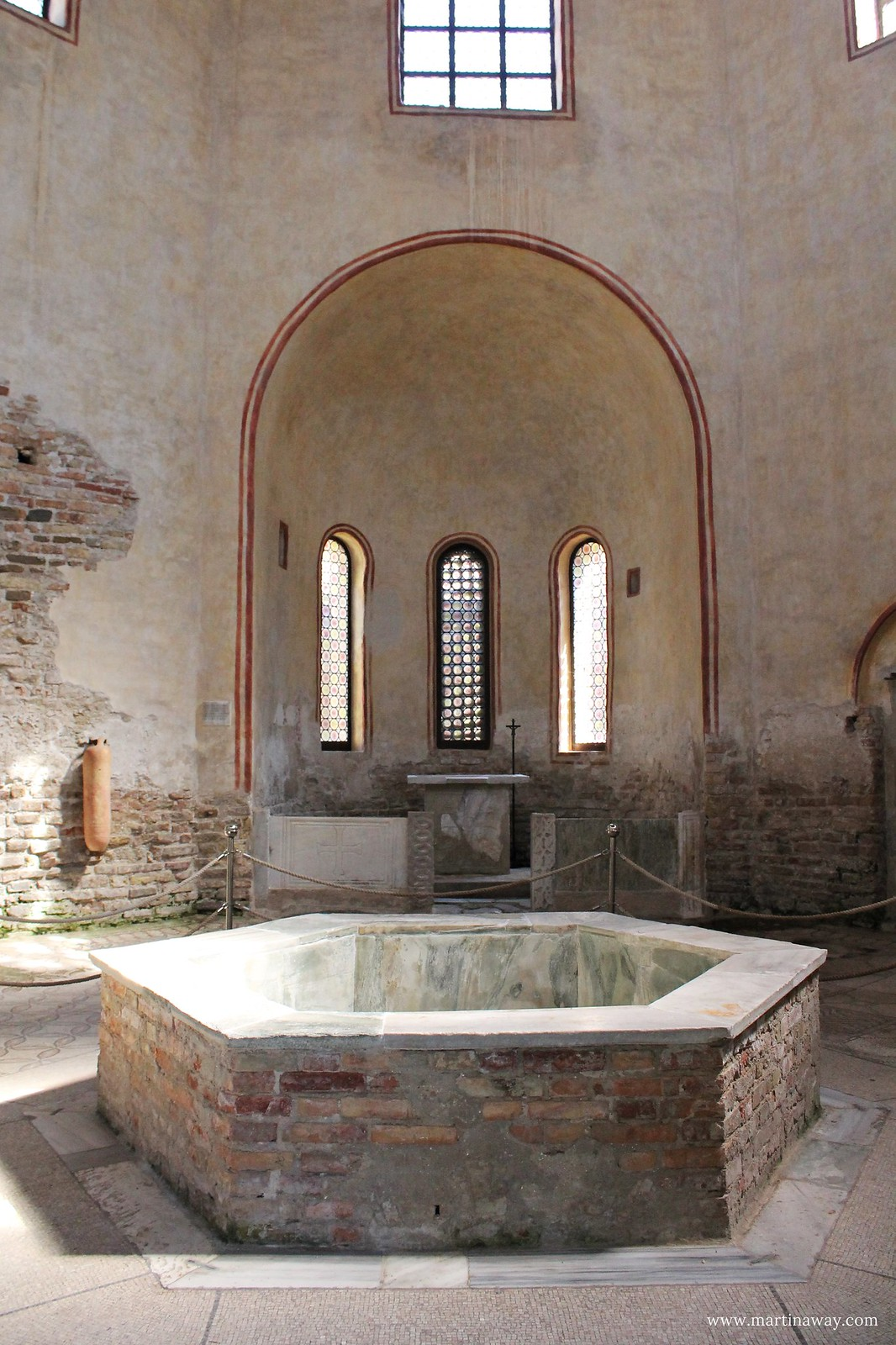 Grado - Battistero Basilica di Sant'Eufemia
