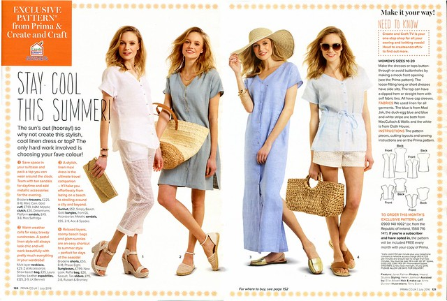 Prima Magazine - Pattern, July 2016 (02)