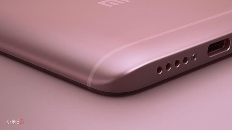 Xiaomi Mi5S с USB Type-C для зарядки
