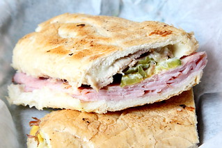Cuban sandwich, Enriqueta's, Miami | by Eating In Translation