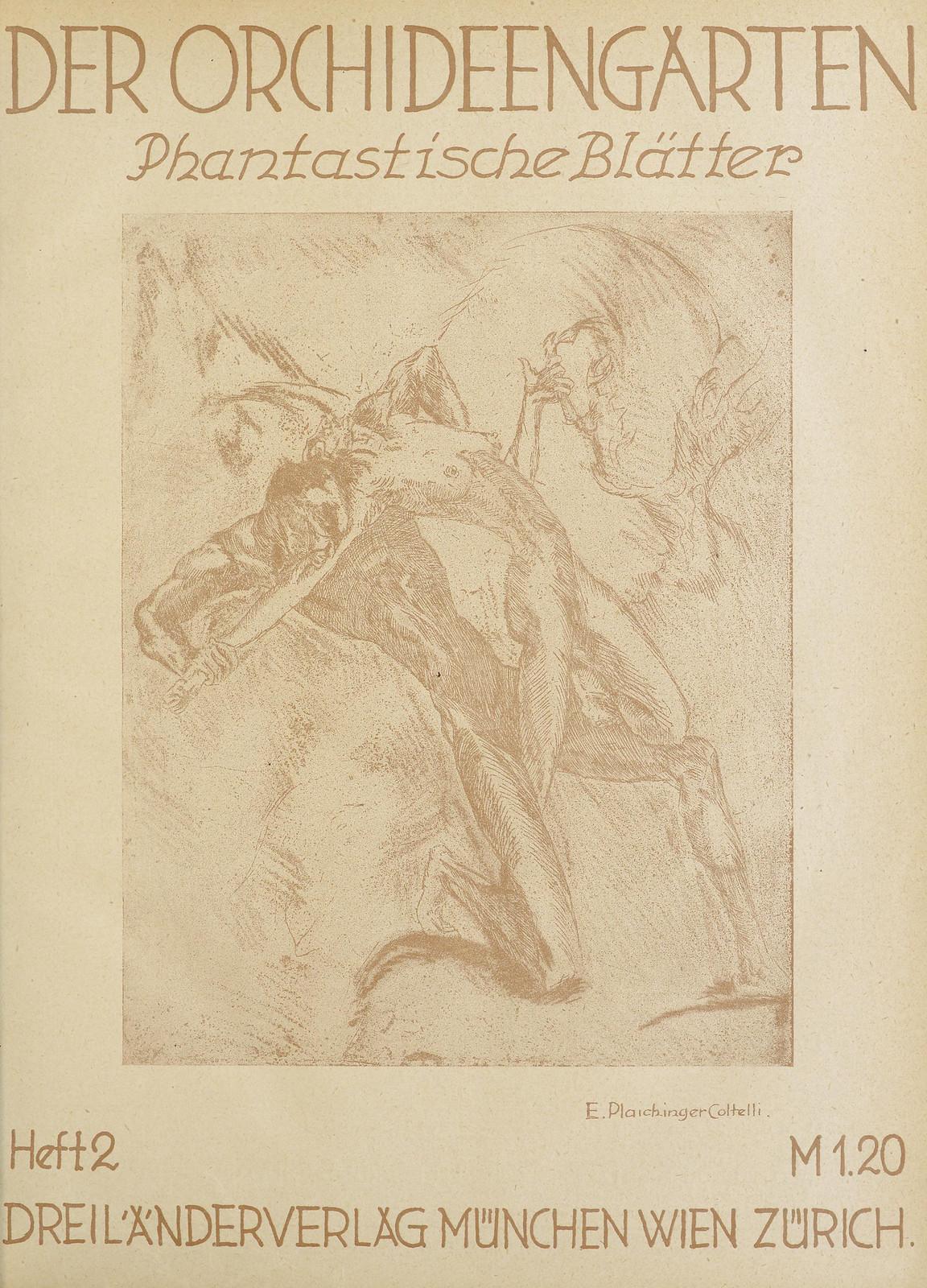 Der Orchideengarten - 1920 (Cover 2)