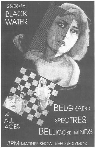 8/25/16 Belgrado/Spectres/BellicoseMinds