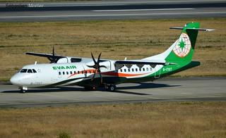 ATR.72-600 EVA AIRWAYS B-17017 1351 DELIVERY FLIGHT 07 09 16 TLS
