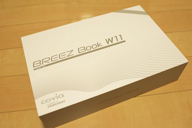 COVIA 2in1 11.6インチ タブレットノートパソコン 大画面フルHD(1920×1080) BREEZ Book W11
