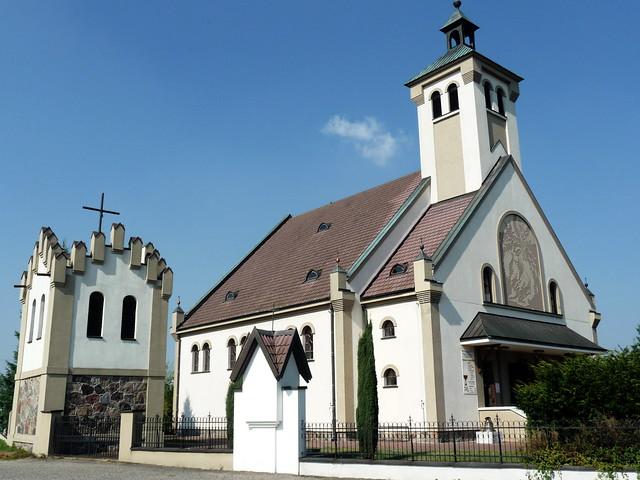 kościół w Szczawinie