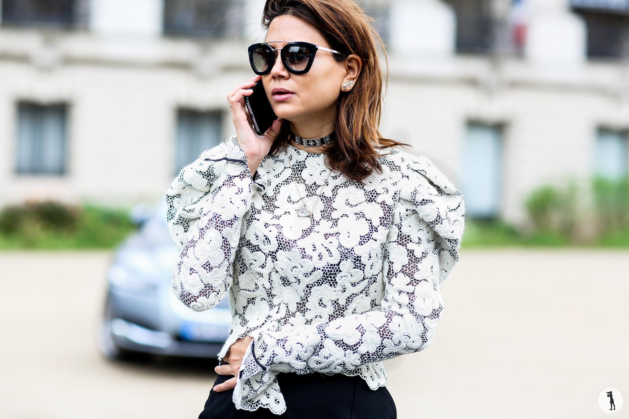 Christine Centenera at Paris Fashion Week-2