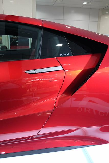 Honda NSX Valencia red pearl 09